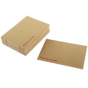 Brown Board Back Envelopes<br>Size: 324x229mm<br>Pack of 10
